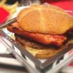 Mc Donald's présente son nouveau hamburger de luxe