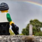 Le monde à travers l'objectif d'un LEGO