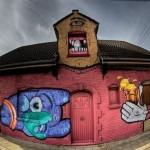Quand une ville fantôme se transforme en oeuvre d'art