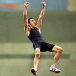 Record du monde du saut à la perche battu par Renaud Lavillenie aux J.O à Sotchi