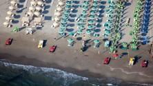 Magnifiques photos aériennes de plages