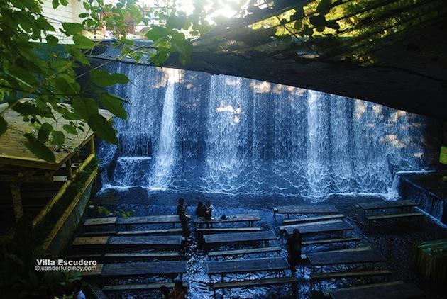 Philippines-Villa-Escudero-Waterfall-Restaurant-1
