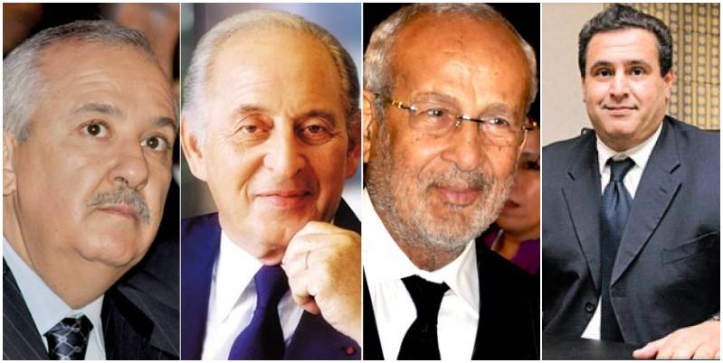 Les 4 Marocains les plus riches