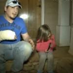 Une fillette de 3 ans sauve son père