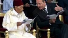 La cuillère volée par Chirac à Feu Hassan II