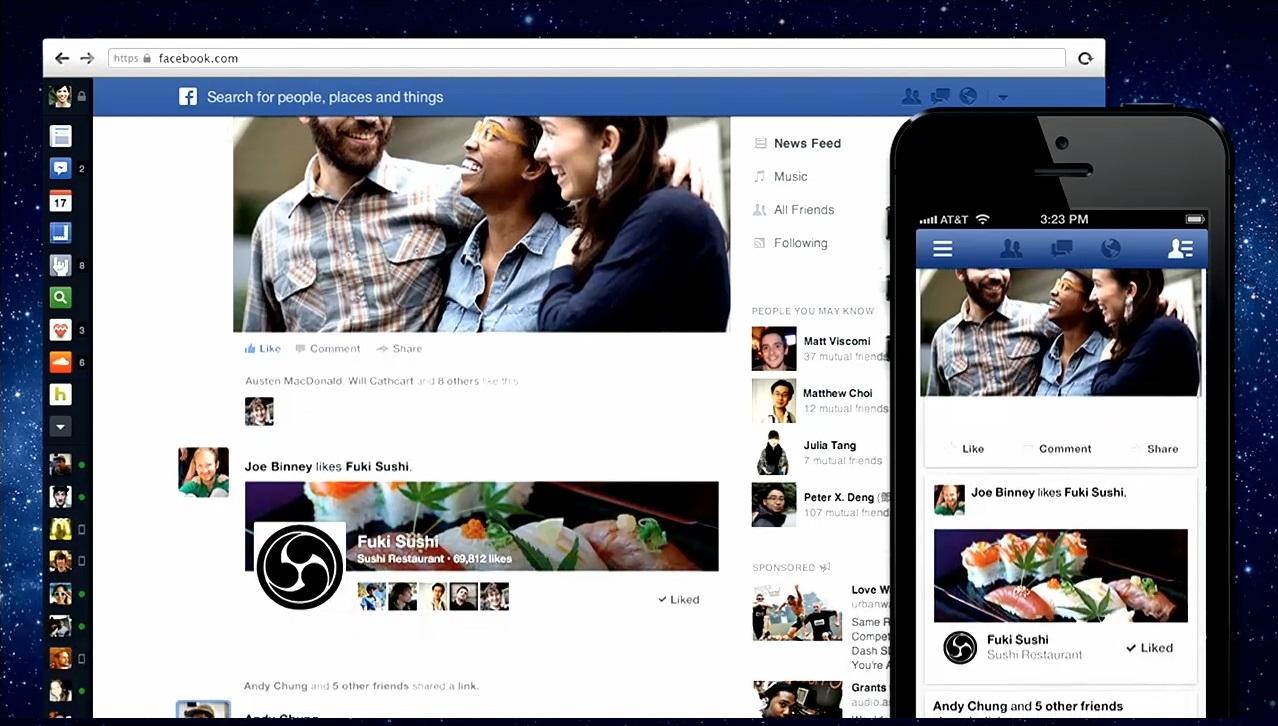 L'échec de l'ancien nouveau design de Facebook