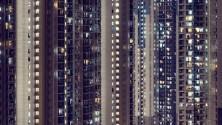 Une vision unique des bâtiments de Hong Kong