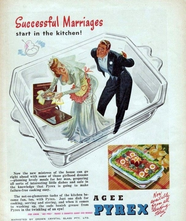 successful marriages start in the kitchen