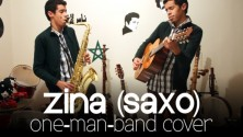 Ayoub El Machatt reprend Zina au Saxophone