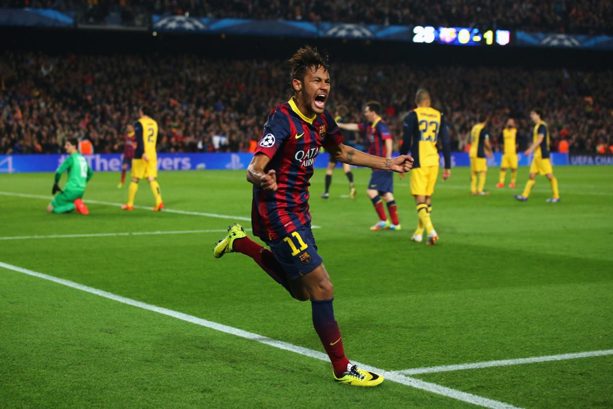 FC Barcelona v Club Atletico de Madrid - UEFA Champions League Quarter Final