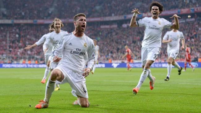 Sergio Ramos n'y croit pas !!