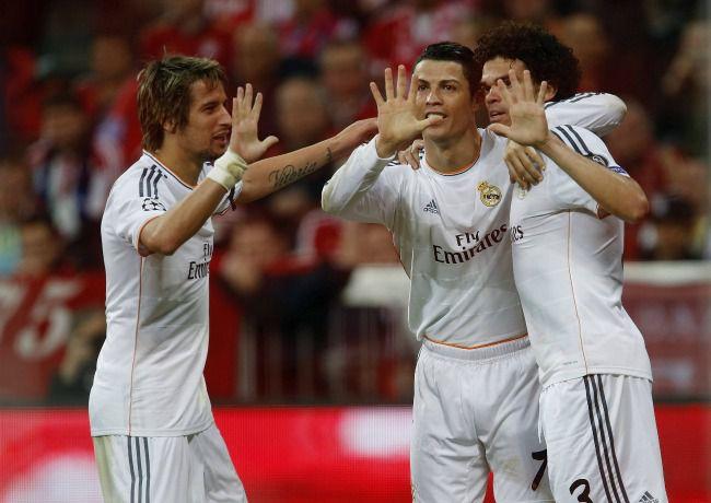 La triple manita pour fêter les 15 buts à la Champions League