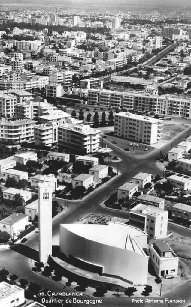 Casablanca Quartier Bourgonne