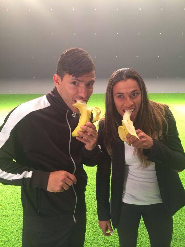 Marta et Aguero