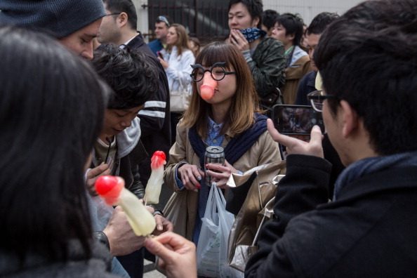 People Celebrate Festival of the Steel Phallus In Japan