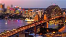 Tiny Sydney : La ville de Sydney en tilt-shift