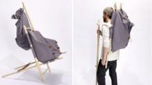 Une trottinette, une poussette, un picnic… dans un sac à dos