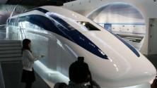 Un train qui roule à 3000 km/h, c'est possible