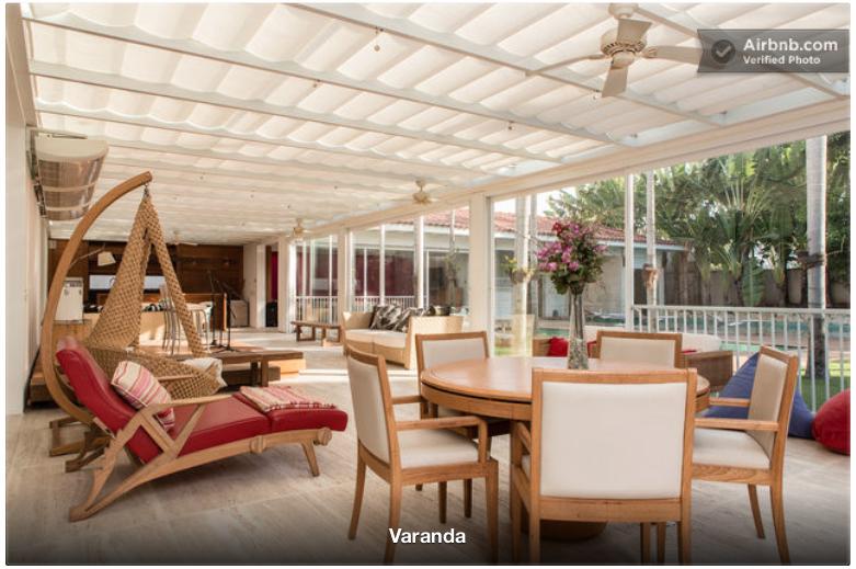 Vous pouvez louer la villa de ronaldinho pour 79 329 par semaine welovebuzz for Site de villa a louer