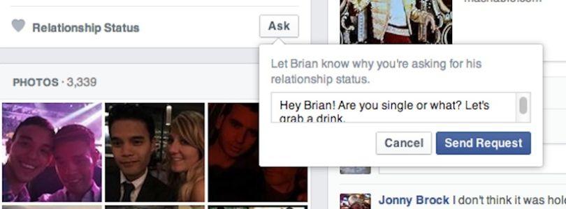 Flirter sur facebook