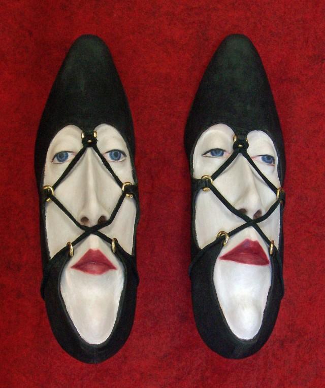 shoe face