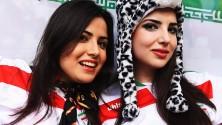 Les supportrices iraniennes au Brésil