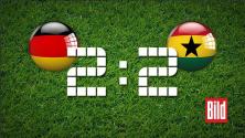 Les Black Stars nous surprennent contre les allemands