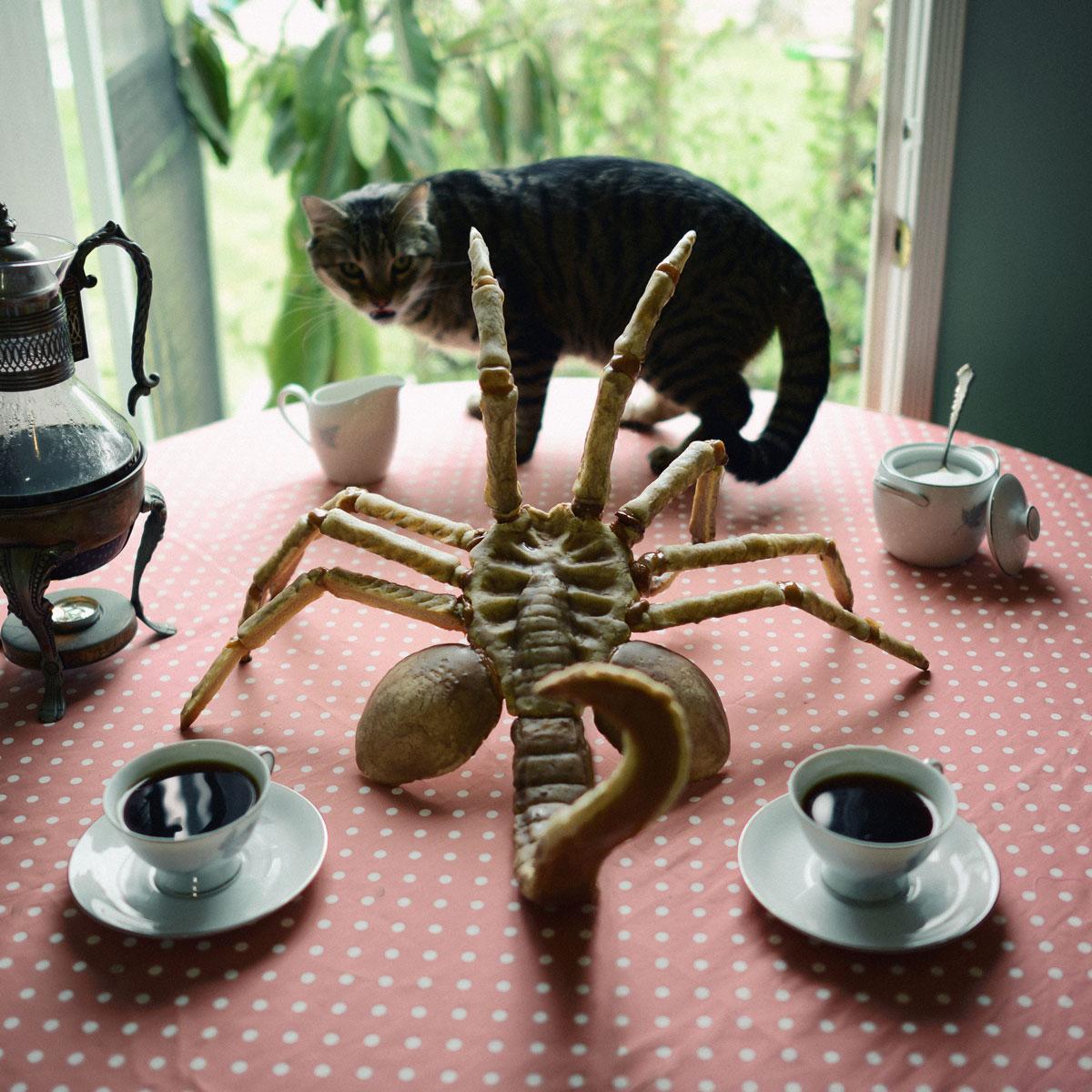 gateau-alien-chat-table