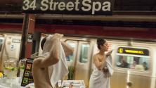 Un spa dans le métro de New York