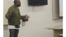 Kanye West donne des cours à la fac