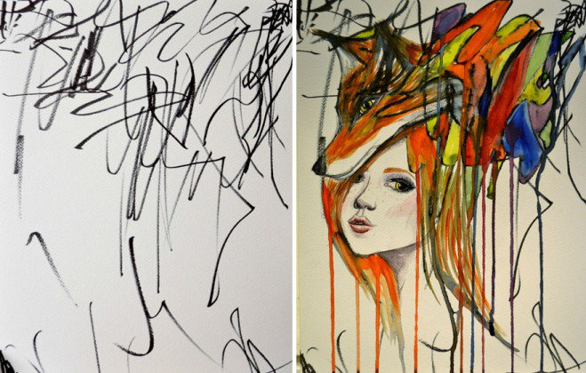 artist-turns-childrens-drawings-into-paintings-3-659x420