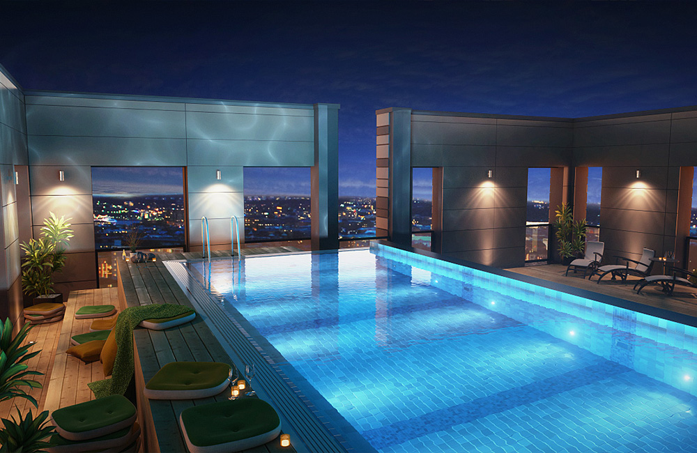2 The Clarion Hotel Post Gothenburg Sweden Pool