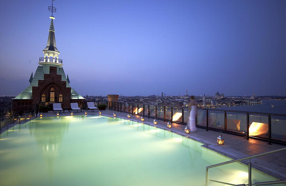 5 Hilton Molino Stucky Venice Italy Pool