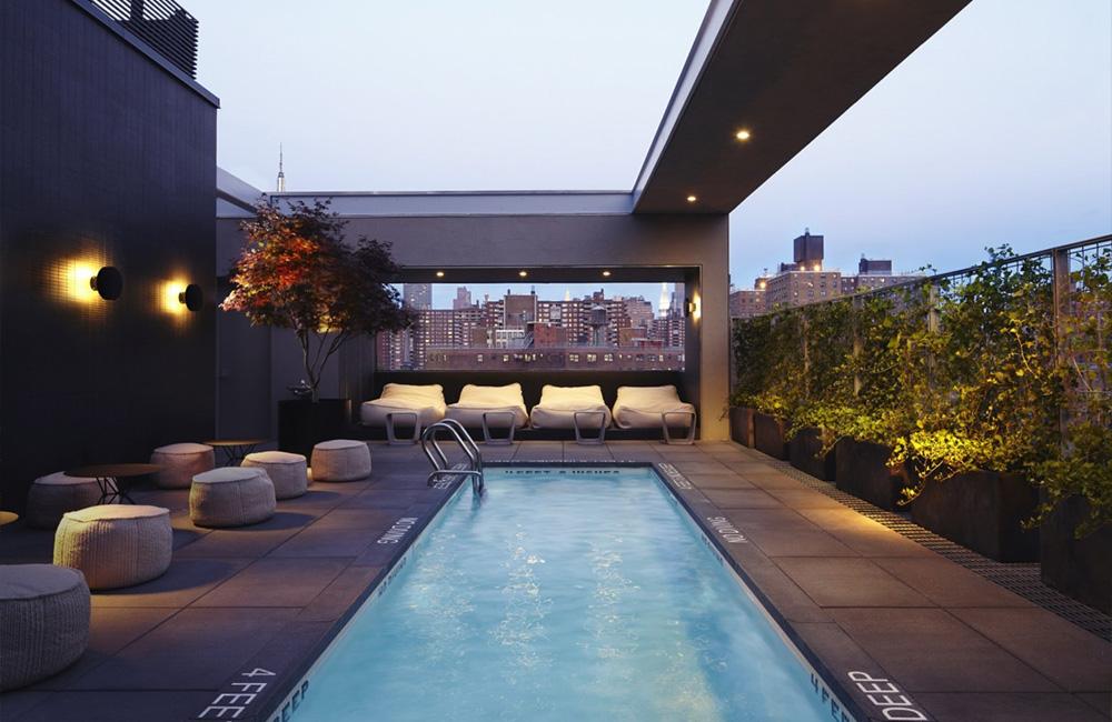 6 Hotel Americano New-York Pool