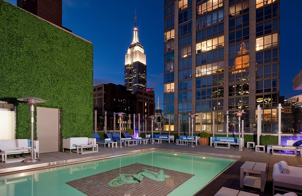 7 The Gansevoort Park Avenue Hotel New-York Pool