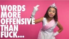Des petites filles disent F*** pour la bonne cause
