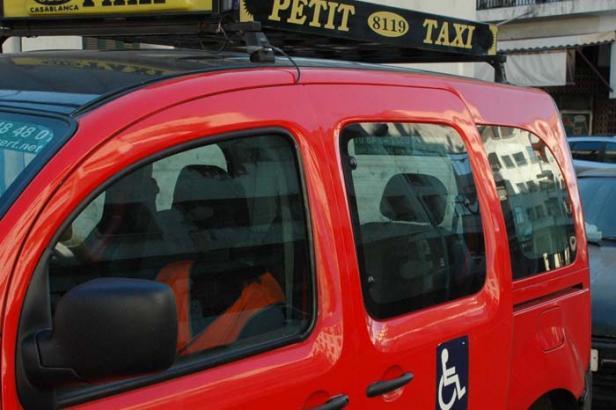 Le taxi pour handicapé