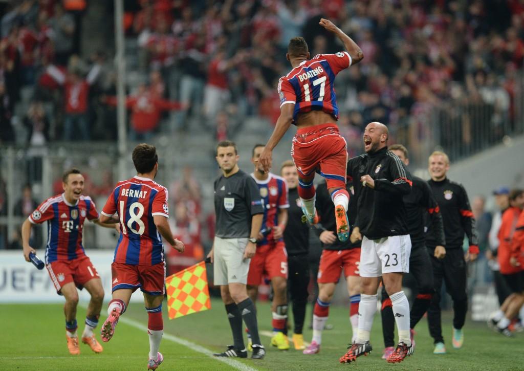 FC Bayern Munich vs Manchester City