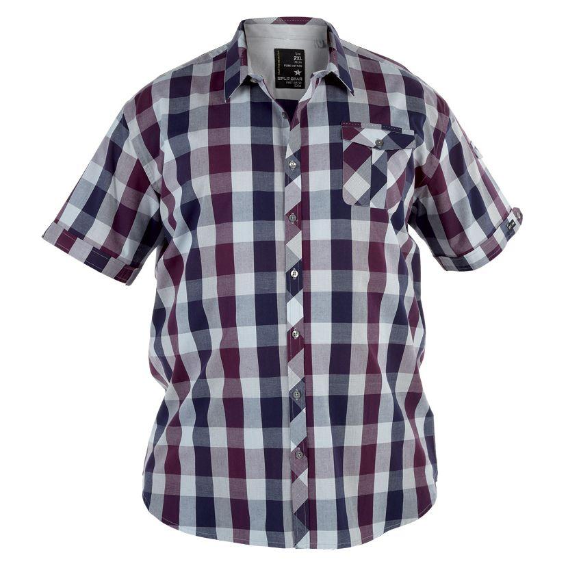 chemisette-a-carreaux-pour-homme-grand