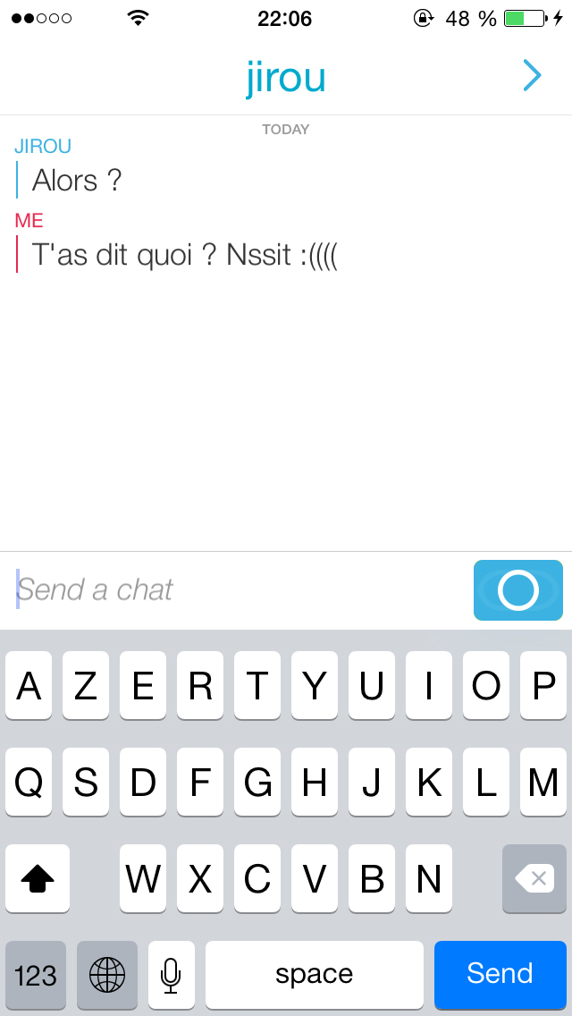 snap-oubli