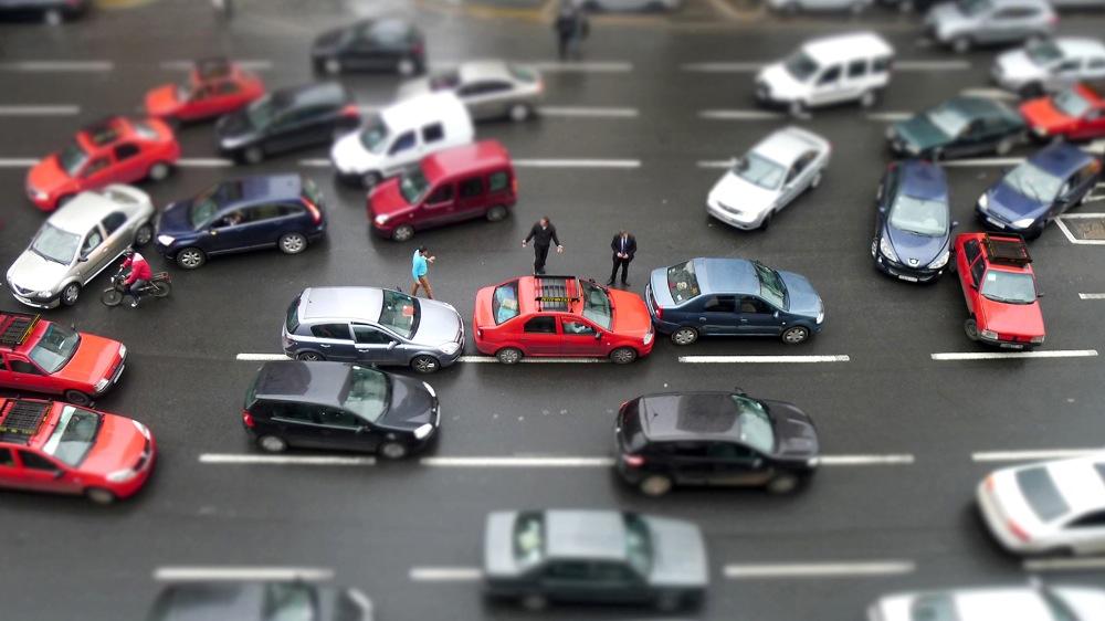 Des autos tamponneuses casablancaises 35,33x20cm © Mehdy Mariouch