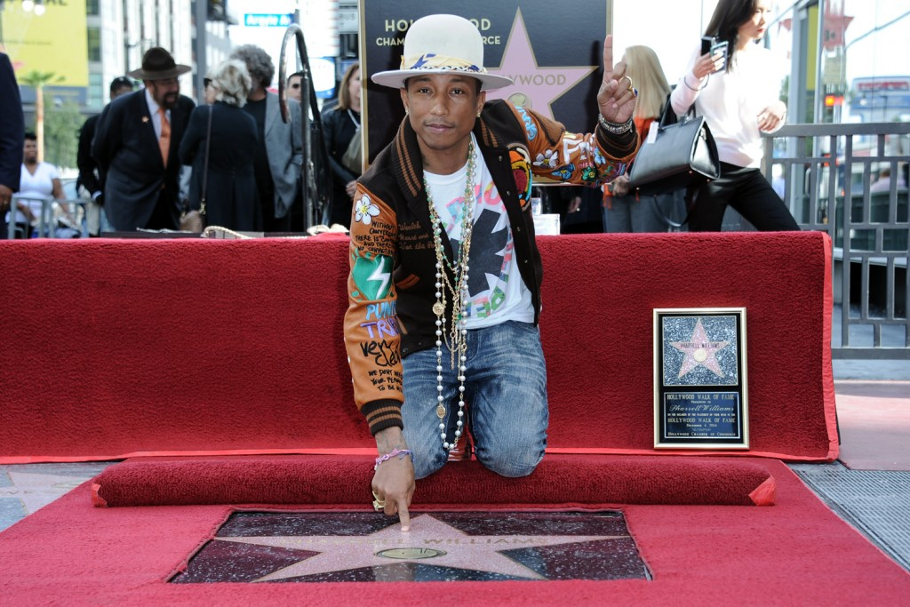Pharrell-Williams walk of fame