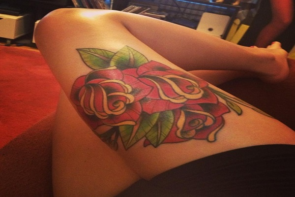 Rose-Tattoo-on-the-Thigh