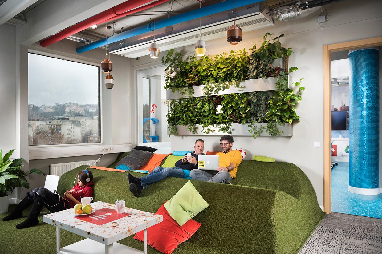 Les splendides bureaux de google à budapest welovebuzz