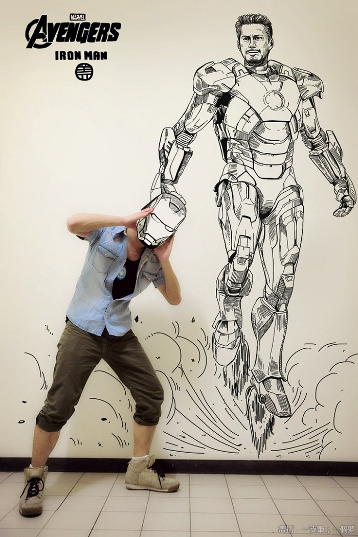 Comic-Book-Illustrations-Into-the-Real-World14
