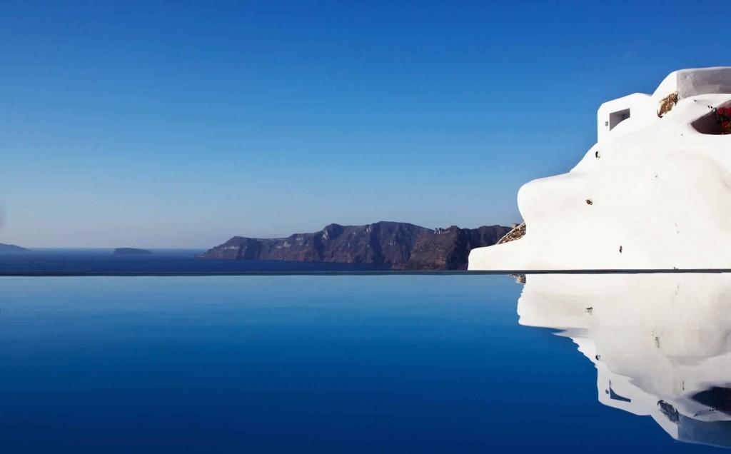 Katikies Hotel Santorini Grece