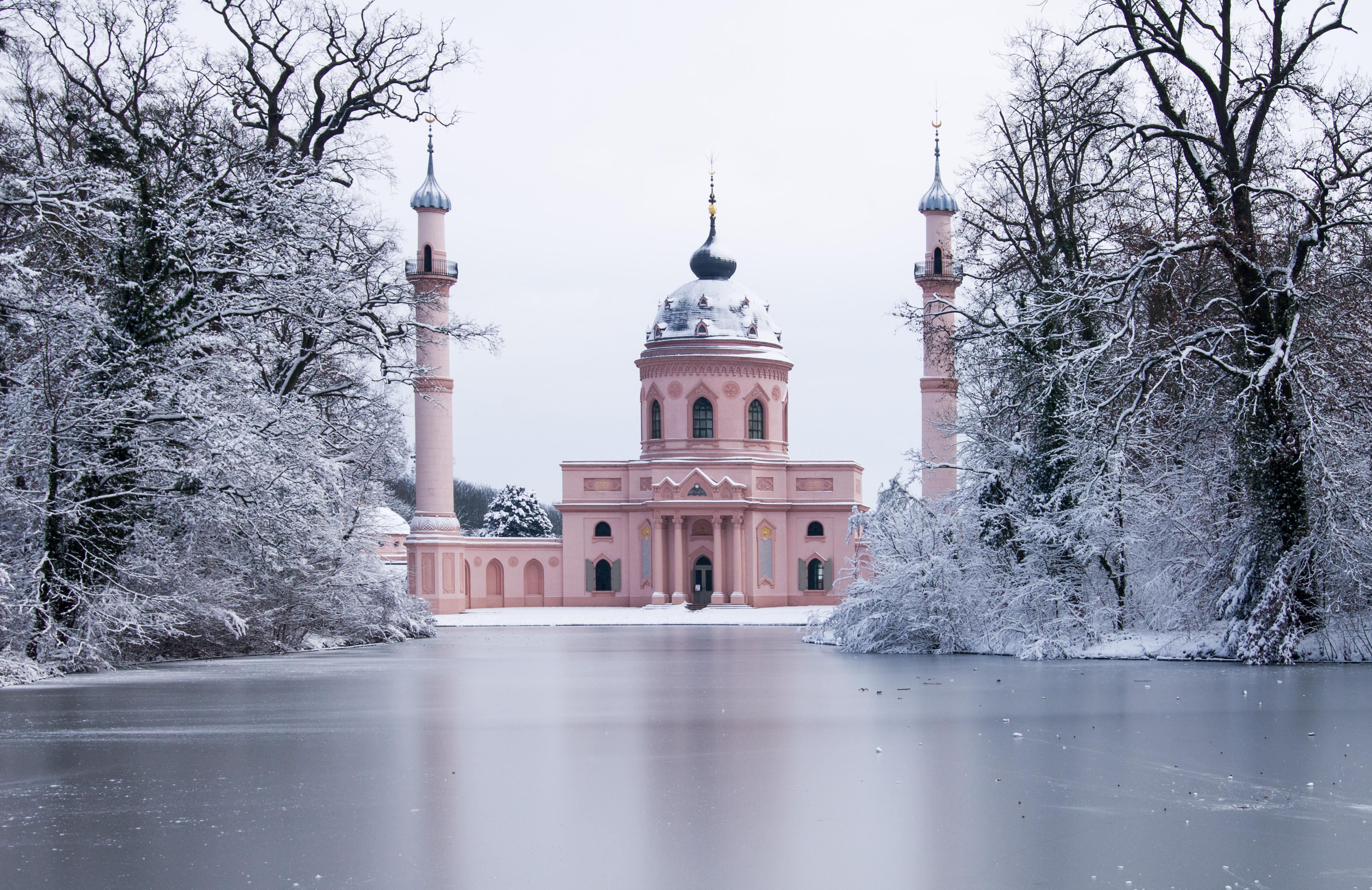 Moschee_Schwetzingen_Winter2010