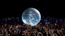 Akon s'est jetté sur le public de Mawazine