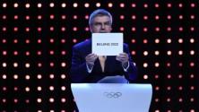 Les jeux olympiques d'Hiver 2022 se dérouleront à Pékin