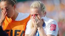 Laura Bassett prive l'Angleterre d'une place en finale de la coupe du monde féminine